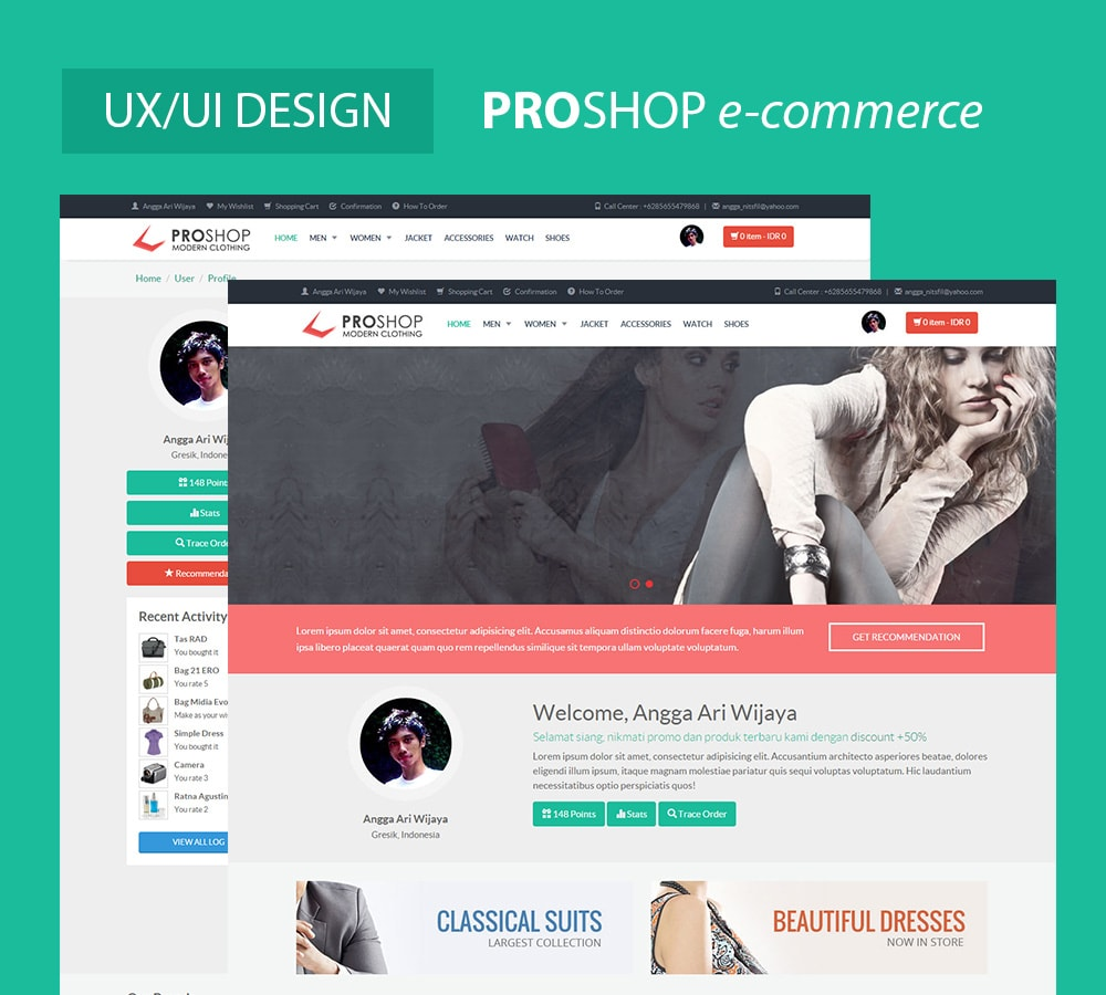 ProShop E-commerce